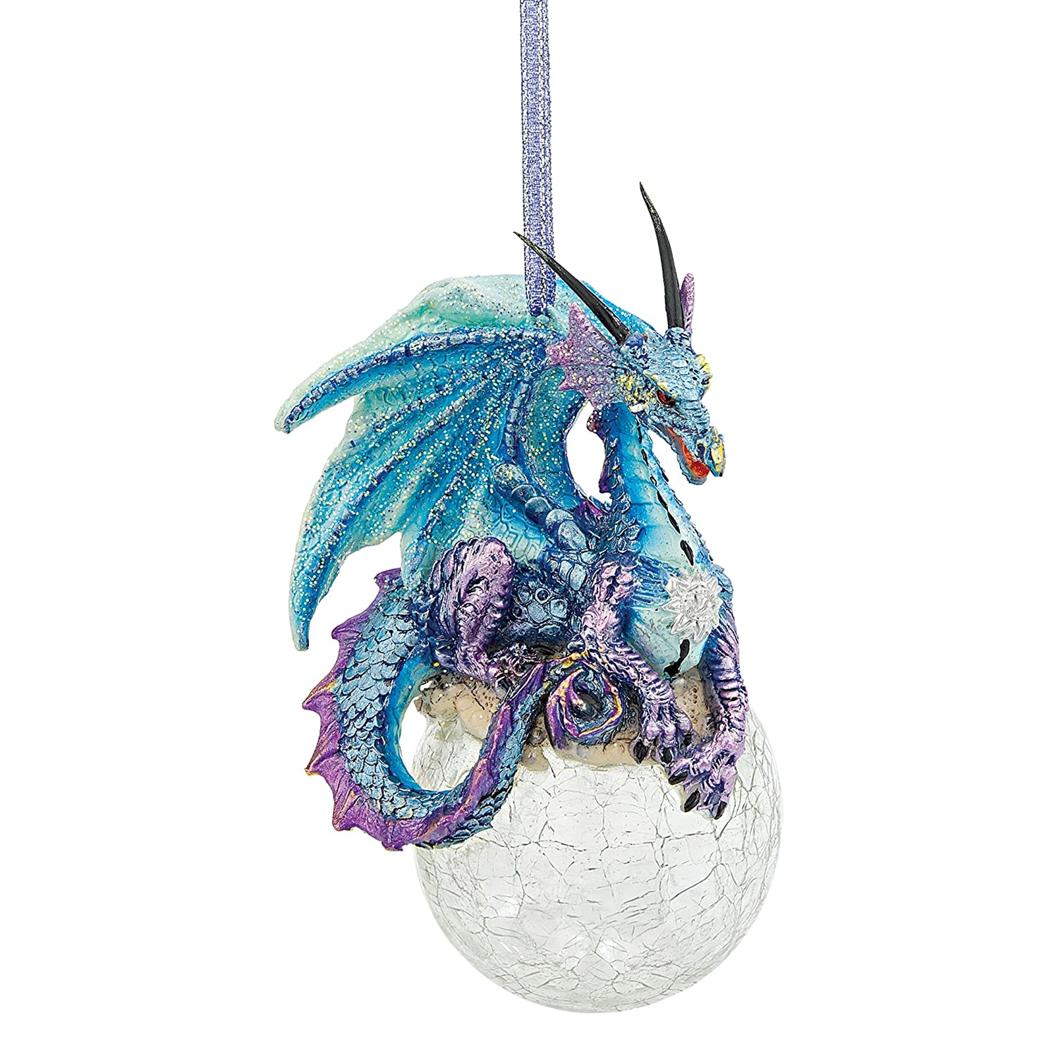Amazon.com: Christmas Tree Ornaments - Frost the Gothic Dragon ...