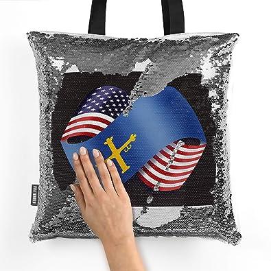 Amazon.com: NEONBLOND Mermaid Tote Handbag Friendship Flags ...