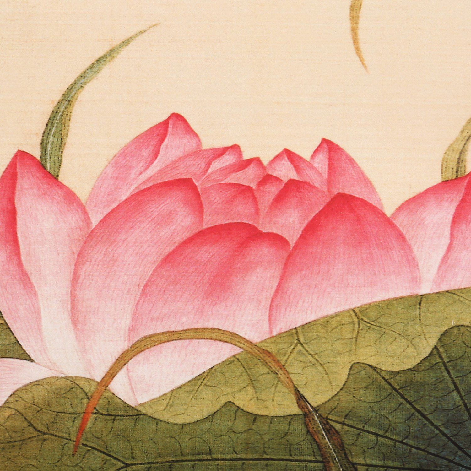 Amazon ink wash framed modern reproduction chinese painting amazon ink wash framed modern reproduction chinese painting white pink buddha lotus flower decor flowers and dragonfly paintings floral artwork fine izmirmasajfo