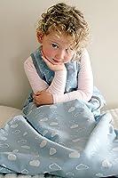 WINTER DUVET MERINO baby Sleeping bag / Sleep Bag, 0-2 yrs old, CLOUDS