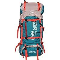 Hyper Adam 65 L Rucksack Hiking Backpack Trekking Bag Camping Bag Travel Backpack Outdoor Sport Rucksack Bag 65 Ltrs (Sea Green)
