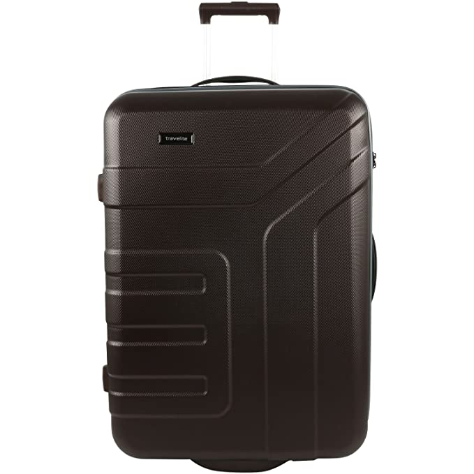 Travelite Trolley Vector with 2 wheels Size L in brown Valise, 73 cm, 110 liters, Marron (Brown)