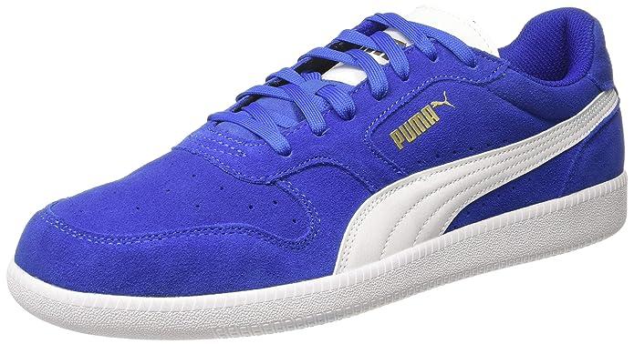 Puma Icra Trainer Erwachsene Damen Herren blau m. weißem Streifen