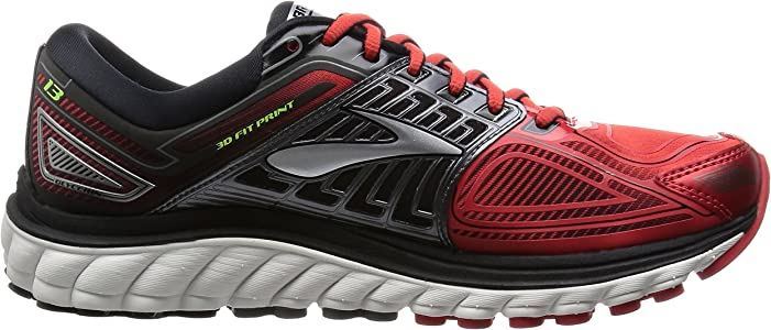 Brooks Glycerin 13 M, Zapatillas de Running para Hombre, High Risk Red/Black/Nightlife, 40 1/2 EU: Amazon.es: Zapatos y complementos