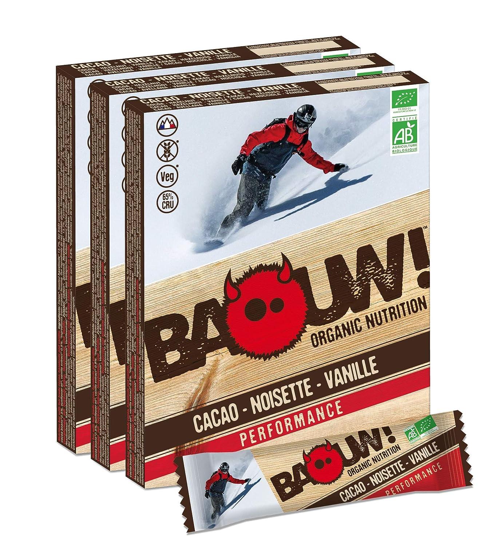 Baouw! Organic Nutrition - COCOA HAZELNUT VANILLA - a 100