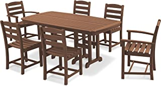 product image for POLYWOOD La Casa Café Dining Set, Teak