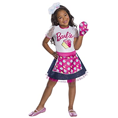 Barbie Baker Chef Girls Costume: Clothing