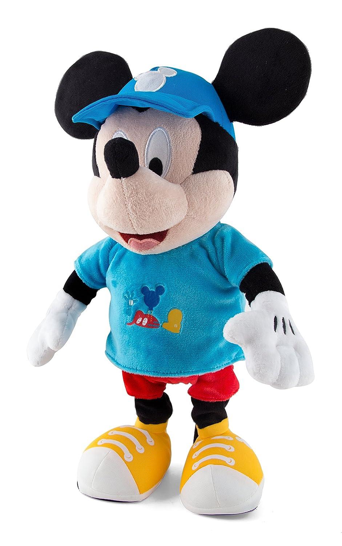 IMC Toys - Mon Ami Mickey, Peluche Interactive Sonore - 181830 - Disney Contes et légendes