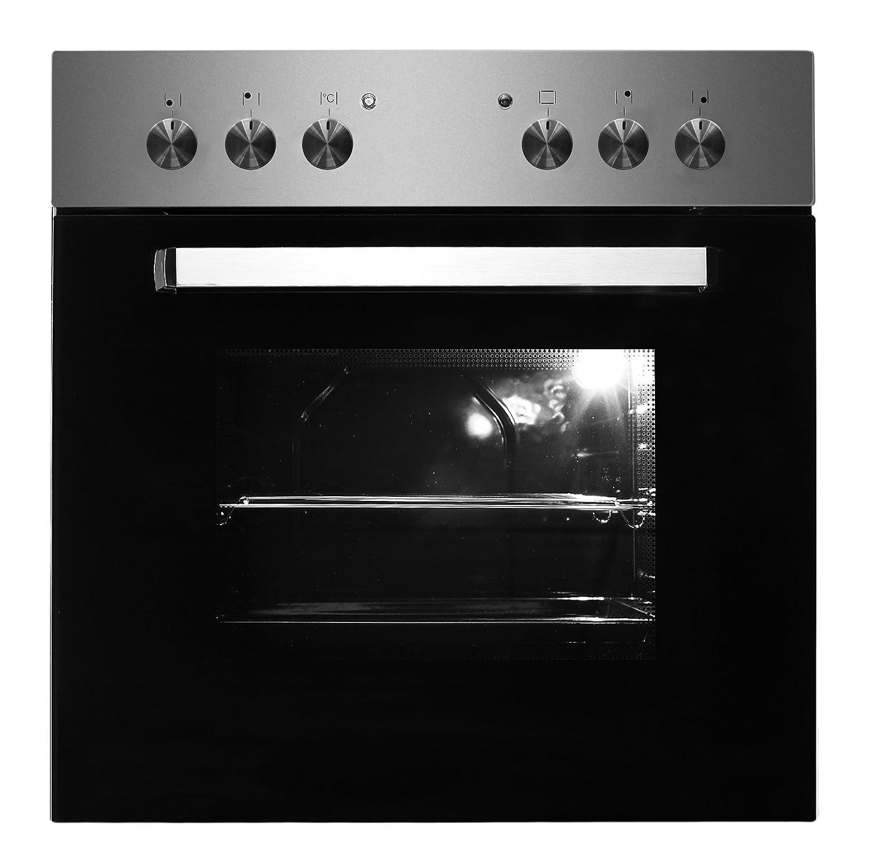PKM bic7 GK de IX de 2H Juego de Instalación de horno acero inoxidable Apertura recirculación hobs: Amazon.es: Hogar