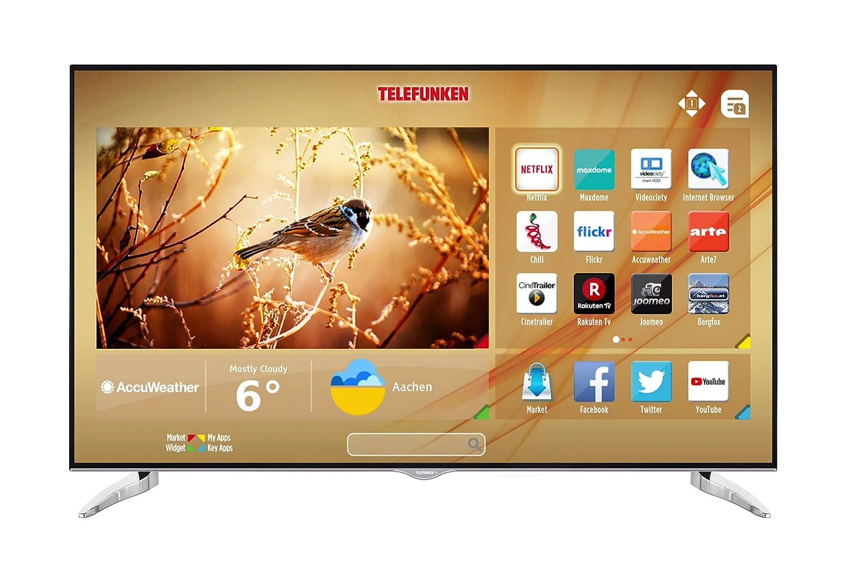 Fernseher Telefunken XU43D101 108 cm 43 Zoll 4K Ultra HD, Triple Tuner