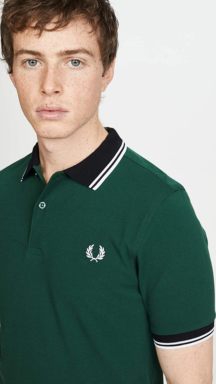 Fred Perry Contrast Trim Polo Shirt Hombre: Amazon.es: Ropa y ...