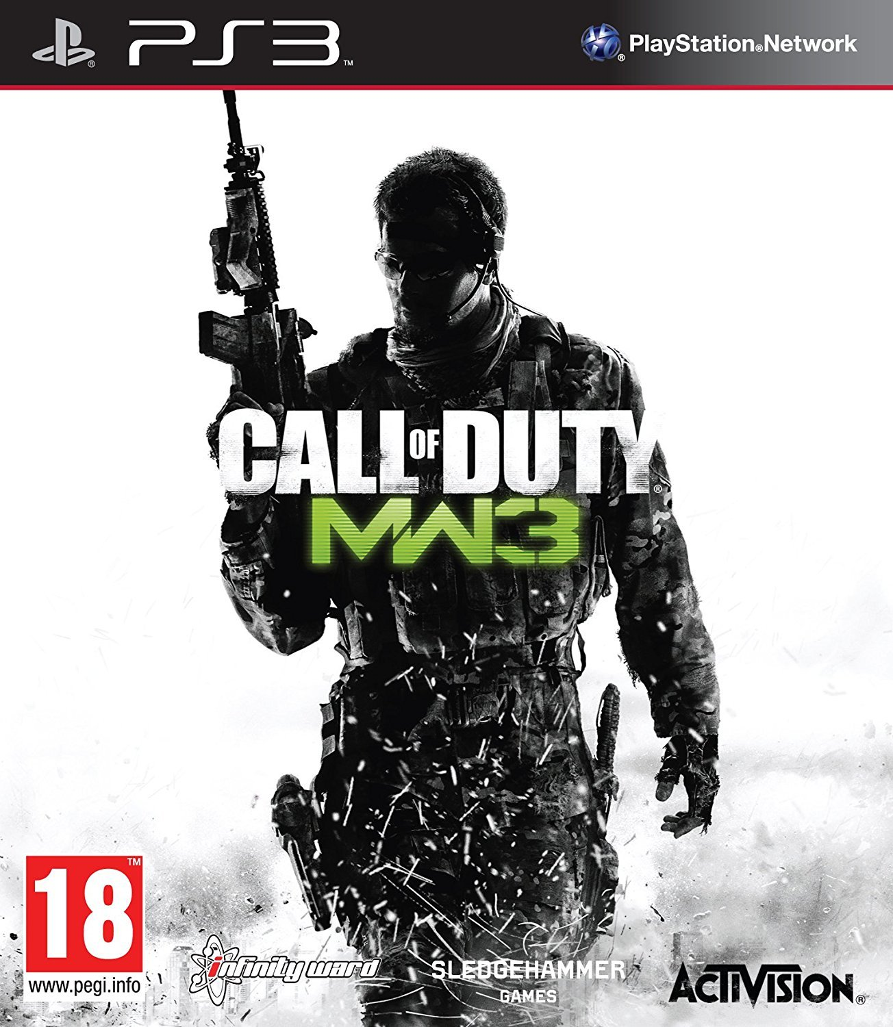 Amazon Com Call Of Duty Modern Warfare 3 Ps3 Video Games