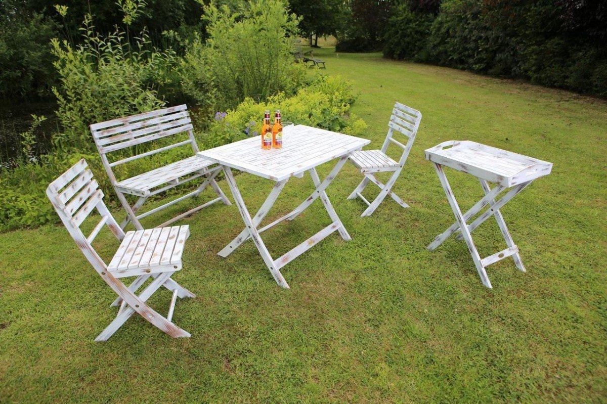 Dreams4home Gartenmöbelset Nimes Loungemöbel Gartenmöbel Stühle