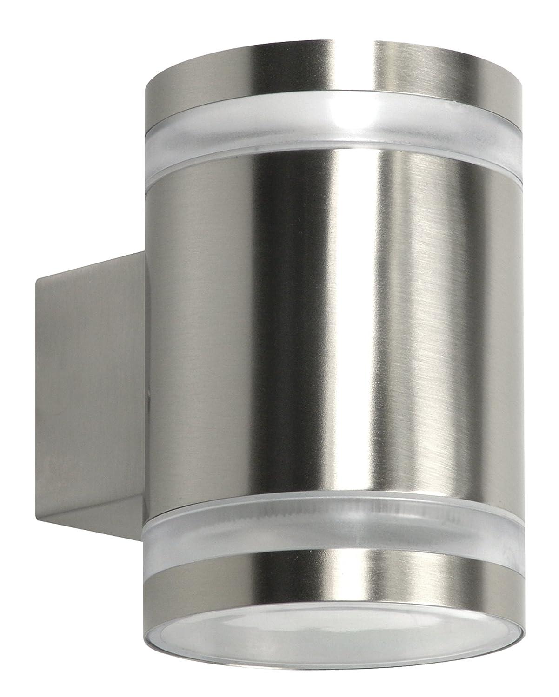 5000.491 Ranex 10.068.55 Aplique exterior LED doble luz arriba y abajo acero inoxidable