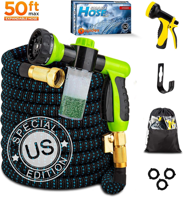 Mud Daddy expandable hose brush nozzle and hanger set