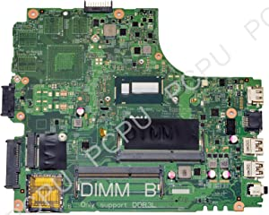 Y3JGV Dell Inspiron 14R 5437 Laptop Motherboard w/Intel i3-4010U 1.7GHz CPU