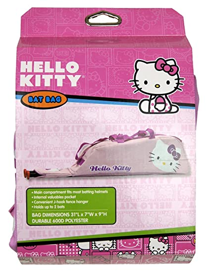 Image Unavailable. Image not available for. Color  Hello Kitty Baseball  Bat Helmet Bag ... 58779de7f0913