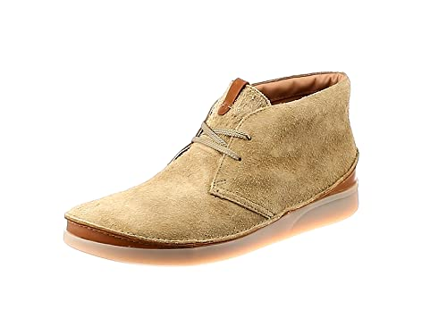 discount shop finest selection various colors Clarks Oakland Rise Suede Boots in Beige: Amazon.co.uk ...