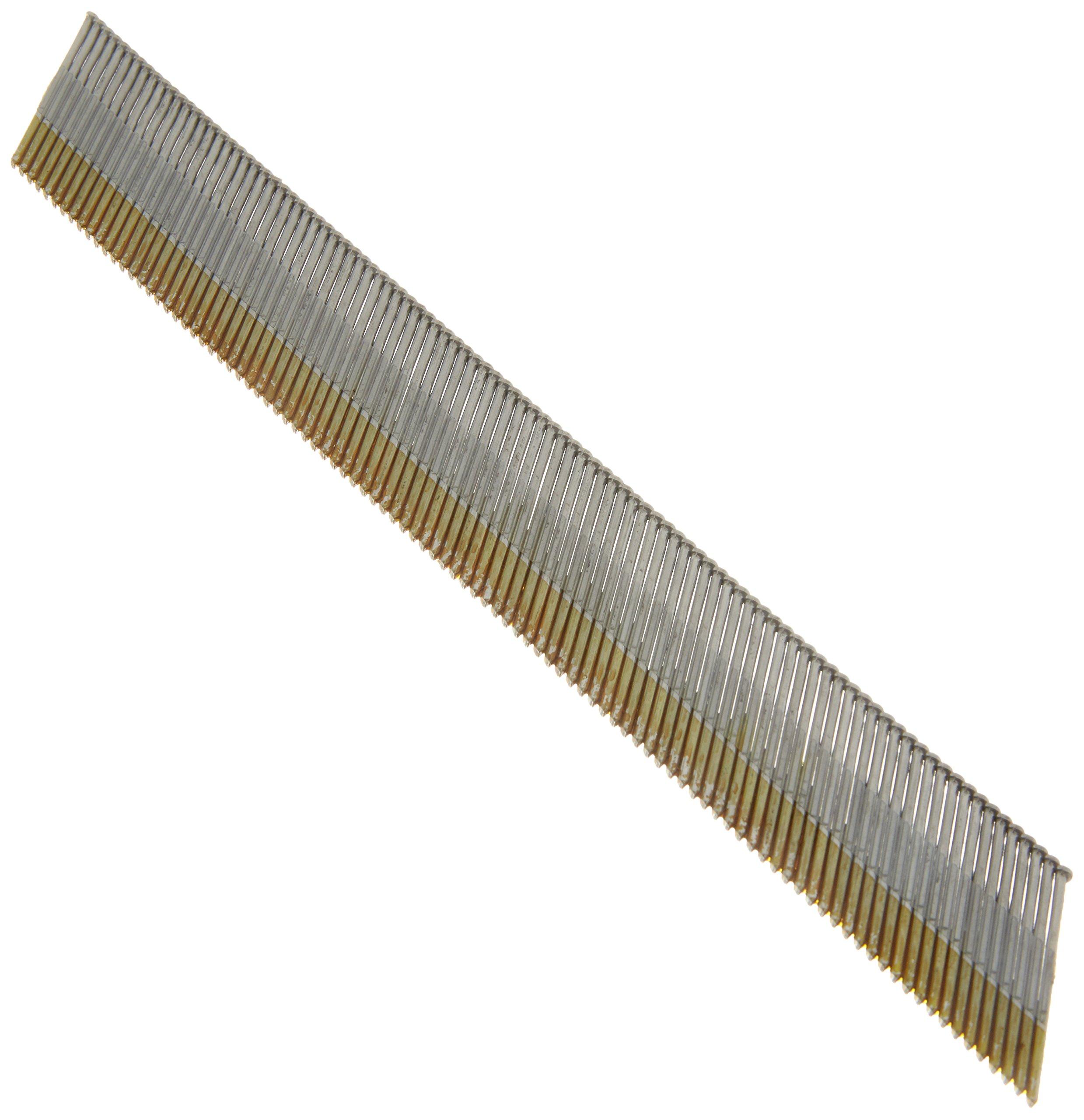 Hitachi 14313 1-1/2'' x 15 Gauge Electro Galvanized Angled Finish Nails 4000 count