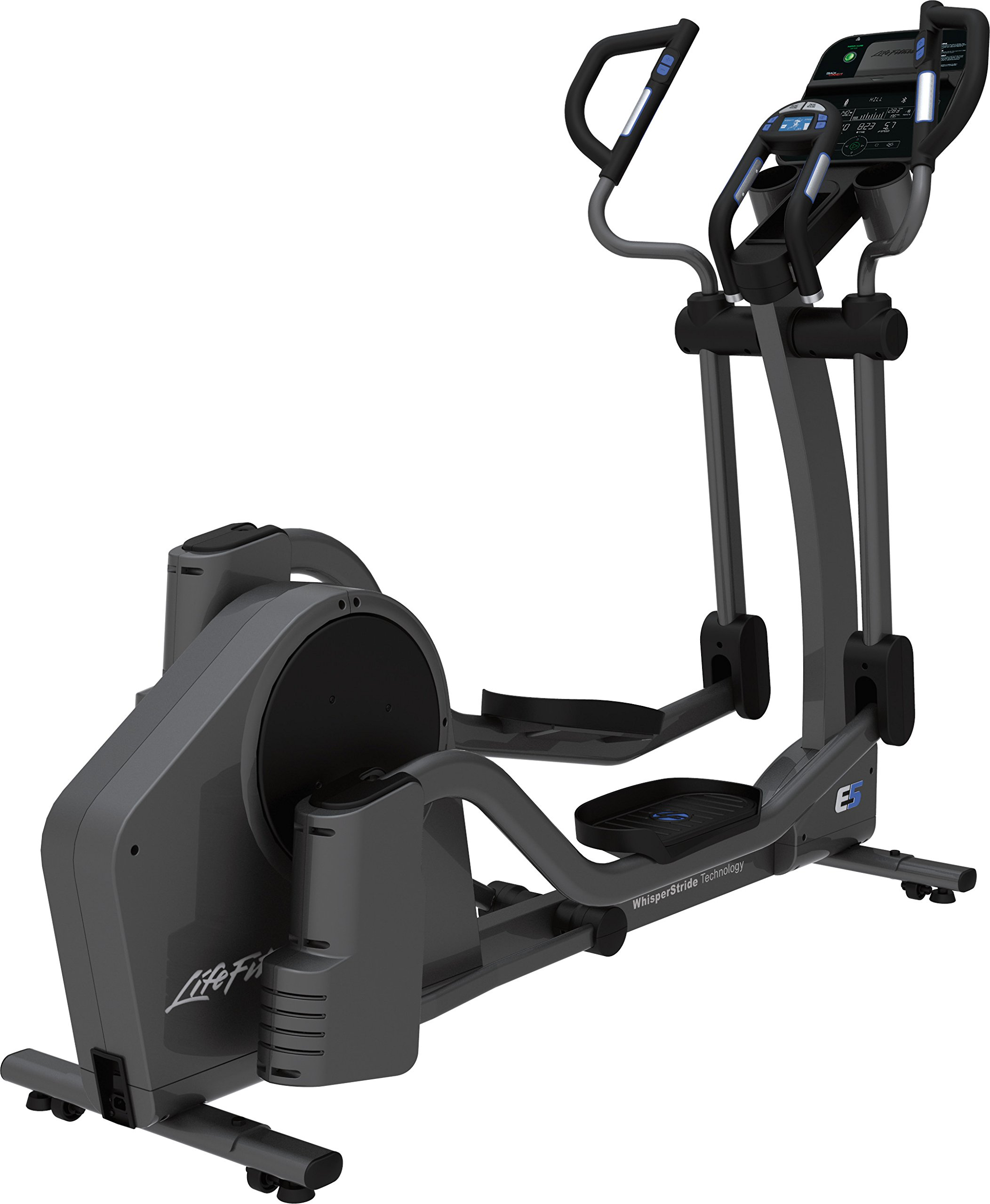 Life Fitness E5TC-XX00-0106 E5 Cross-trainer with Track Connect Console by Life Fitness