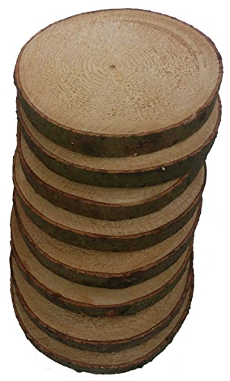Bastel Künstlerbedarf Floristik Holzscheiben Astscheiben