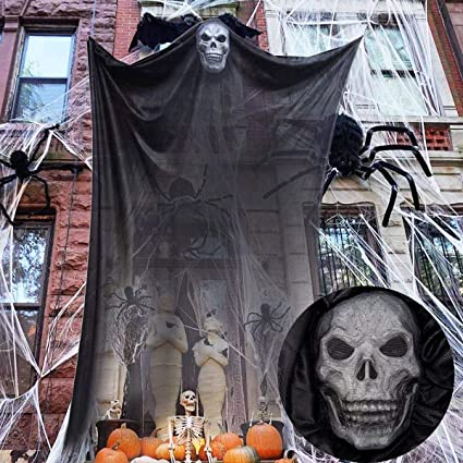 Amazon.com: 10 pies de Halloween colgante fantasma ...