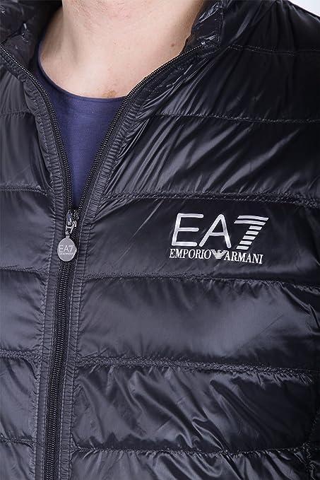 1ae8d49258f0 EA7 Emporio Armani - Blouson 8npb01 - Pn29z 1200 Noir  MainApps  Amazon.fr   Vêtements et accessoires