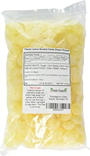 product image for Claeys Lemon Sanded Candy Drops, Old Fashioned, 2 Pound