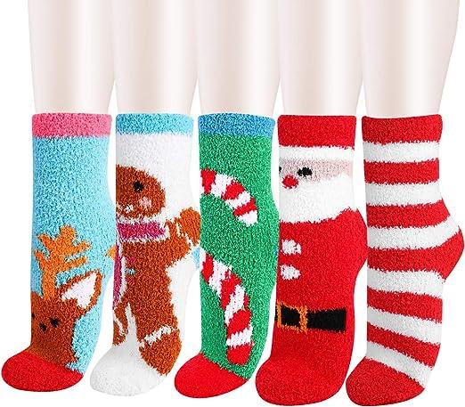 Ladies Christmas Soft Winter New Women Luxury Cosy Fluffy Lounge Gift Pack Socks