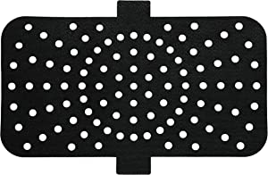 MATI Reusable Air Fryer Grill Mat Liners, Non Stick Accessory, Air Holes, Easy to Remove Tags, Easy to Clean, Extra Thick, Durable, Premium Food Grade Quality (12