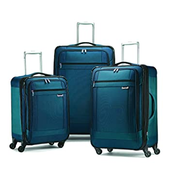 8f4bc84987a3 Samsonite Solyte 3-Piece Expandable Spinner Set; 20 25 and 29 Expandable  Spinners (Teal)