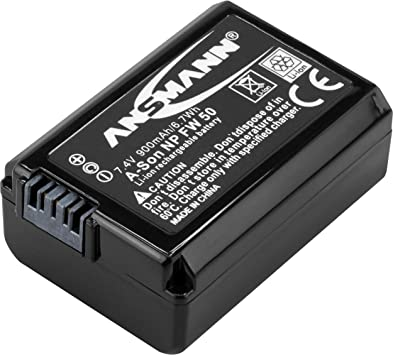 Ansmann Kamera Akku Np Fw 50 Li Ion 7 4v 900mah Ideal Elektronik