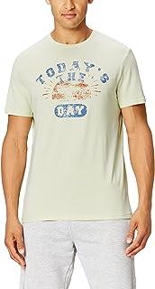 FIND T-shirt Pigiama con Stampa Uomo