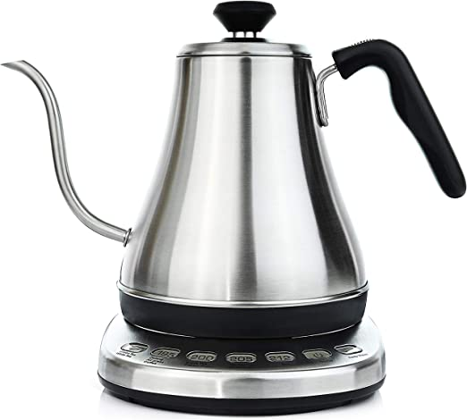 Gooseneck Electric Kettle With Temperature Control