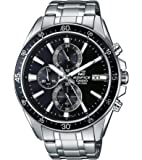 Casio Edifice Chronograph Black Dial Men's Watch - EFR-546D-1AVUDF (EX233)