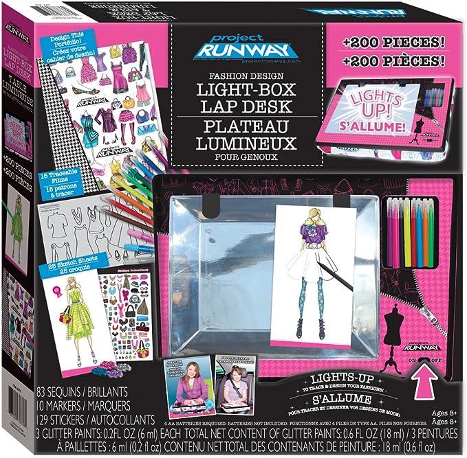 Amazon Com Project Runway Lightbox Lapdesk Super Set