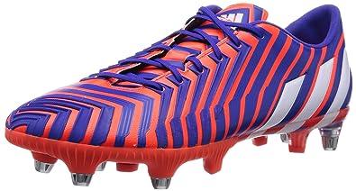 adidas Predator Absolion Instinct Firm Ground, Chaussures de Football Compétition Homme, Mehrfarbig (Solar Red/FTWR White/Night Flash S15), 40 EU