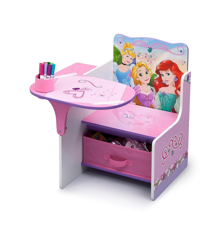 Wooden princess chair - Disney Princess Chair Desk With Storage Bin E Purple