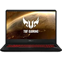 "ASUS TUF Gaming FX705GD-EW106 - Portátil Gaming de 17.3"" FHD (Intel Core i7-8750H, 16 GB RAM, 1 TB HDD + 256GB SSD, NVIDIA GeForce GTX1050 4 GB, Sin Sistema operativo) Negro - Teclado QWERTY Español"