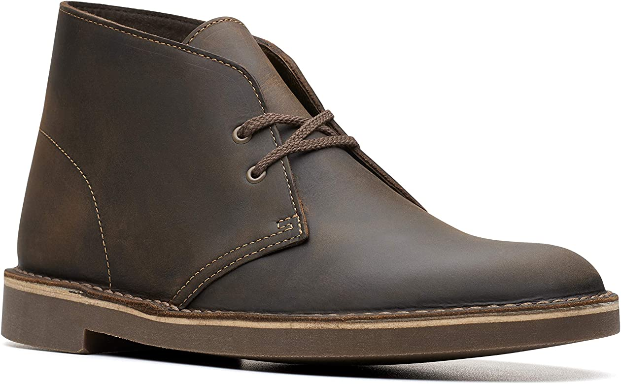 ec568a68a7b7a Amazon.com: Clarks Men's Bushacre 2, Beeswax, 7 M US: Shoes