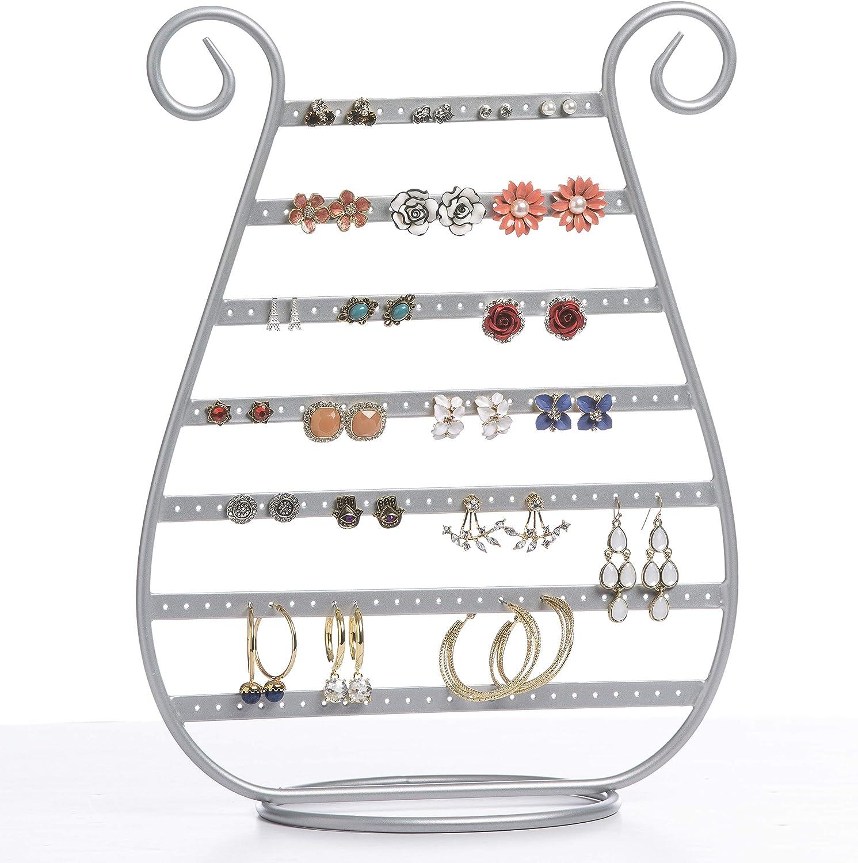 Mango Steam Earring Jewelry Organizer Silver Amazon Ca Home Kitchen
