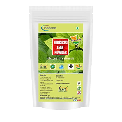 Buy Neotea Hibiscus Leaf Powder 300g Online At Low Prices In India