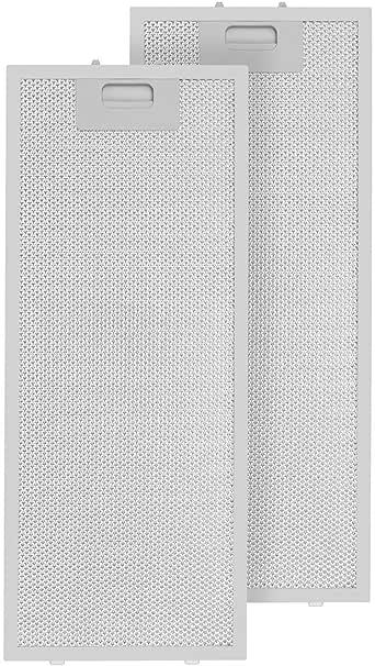 Klarstein Lorea filtro anti grasa aluminio reemplazo accesorio campana extractora 56 x 18,5 cm: Amazon.es: Grandes electrodomésticos