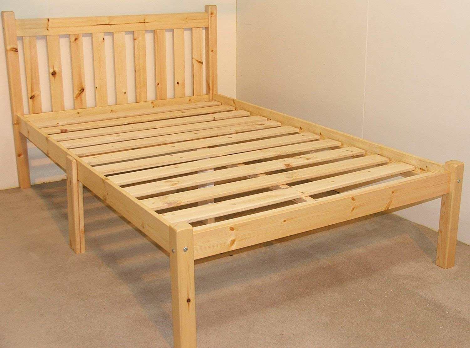 VERY STRONG Heavy Duty 4ft Small Double Bed Frame