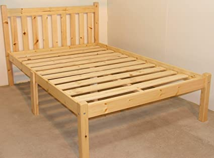 Stupendous Heavy Duty 4Ft Small Double Bed Frame Very Strong Evergreenethics Interior Chair Design Evergreenethicsorg