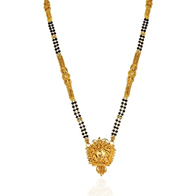 chain buy chains beads mangalsutra this grams black indian gold in latest