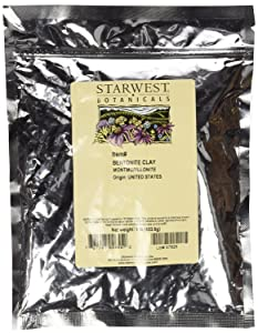Starwest Botanicals Sodium Bentonite Clay (Food-Grade), 1 Pound