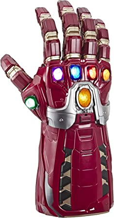 premium addition Thanos/'s powerful gauntlet and The head of iron man