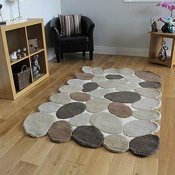 100 Wolle Neutral Stein Design Billig Wohnzimmer Teppiche Astro