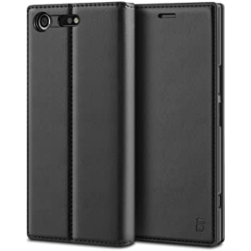 brand new 181a2 3164d BEZ Case for Xperia XZ Premium Case Protective PU Leather Wallet Flip Cover  Compatible with Sony Xperia XZ Premium with Card Holders, Kick Stand, ...